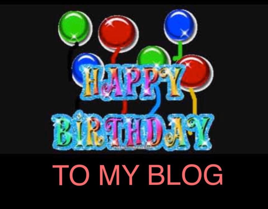 Happy Birthday To MyBlog