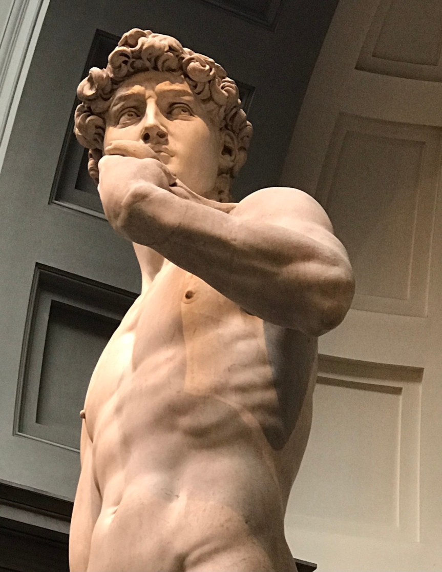 Wordless Wednesday, Fabulous Florence and The Galleria dell'Accademia
