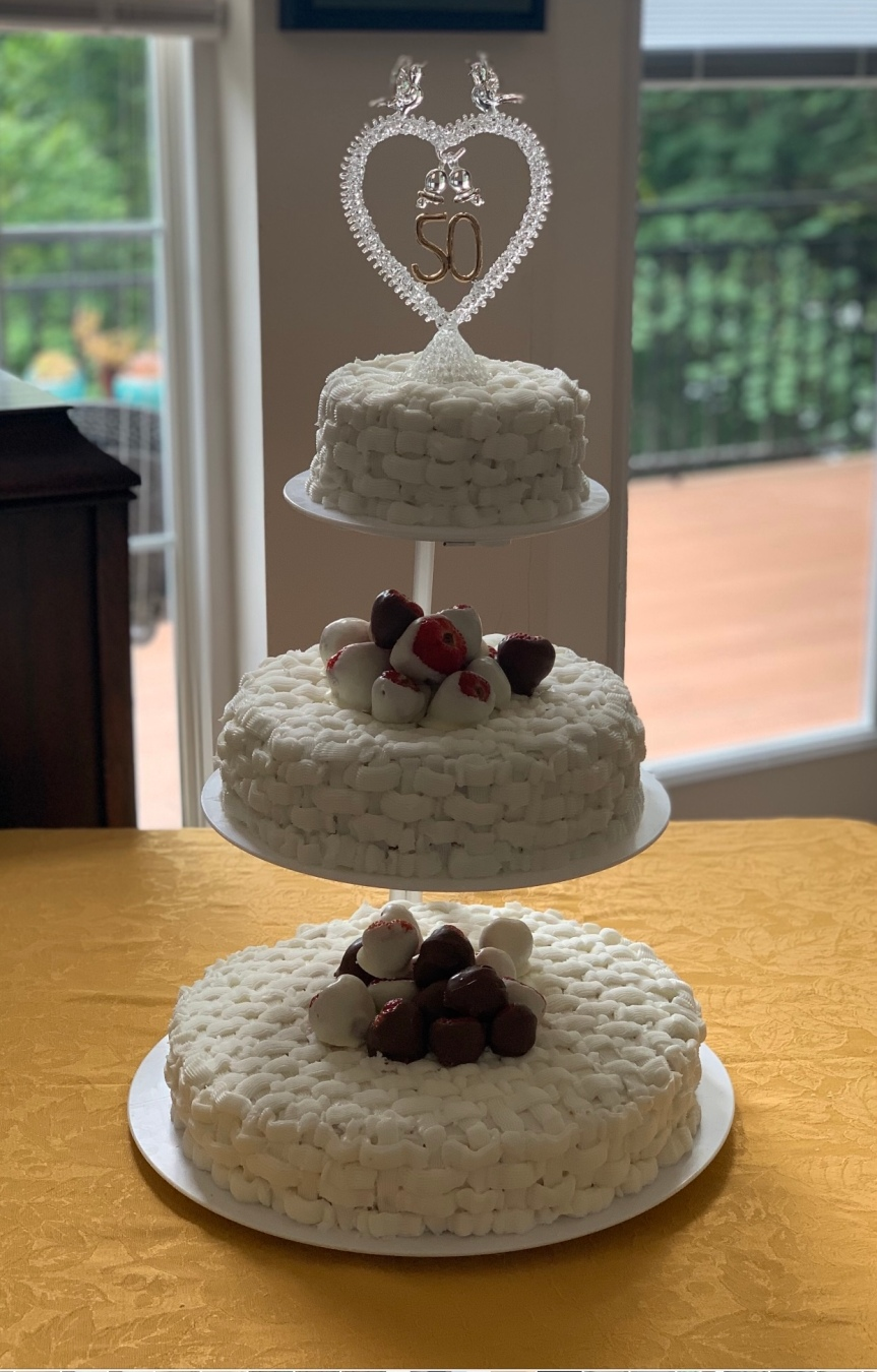 How To Make A Wedding Cake, The EasyWay