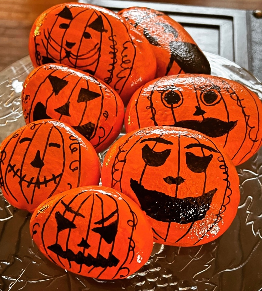 Painting Pumpkins And An EstateSale